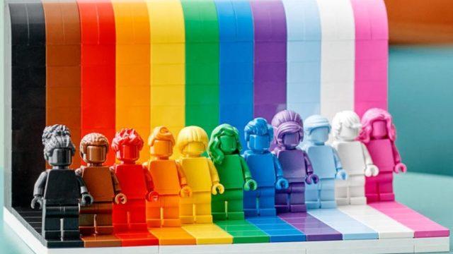 """""""Todos son asombrosos"""": Lego lanzará el primer set LGBTQ+"""