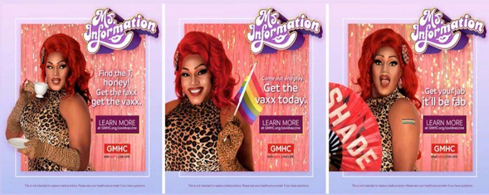 Ms. Information, una nueva plataforma que invita a vacunarse a miembros de la comunidad LGBTQ+
