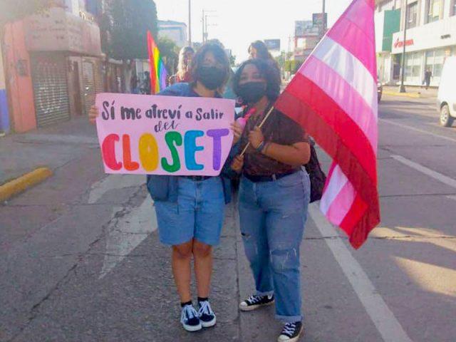 Irapuato realiza su marcha Pride 2021 y tiñe la ciudad de multicolores