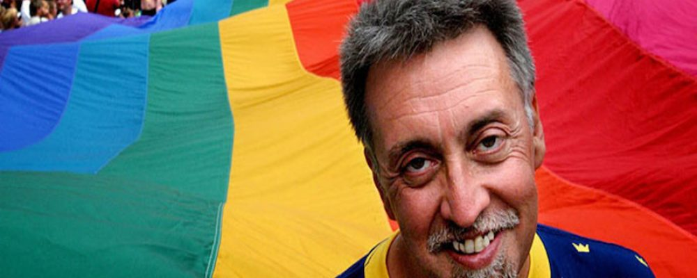Muere Gilbert Baker, creador de la bandera arcoíris por los derechos de los homosexuales